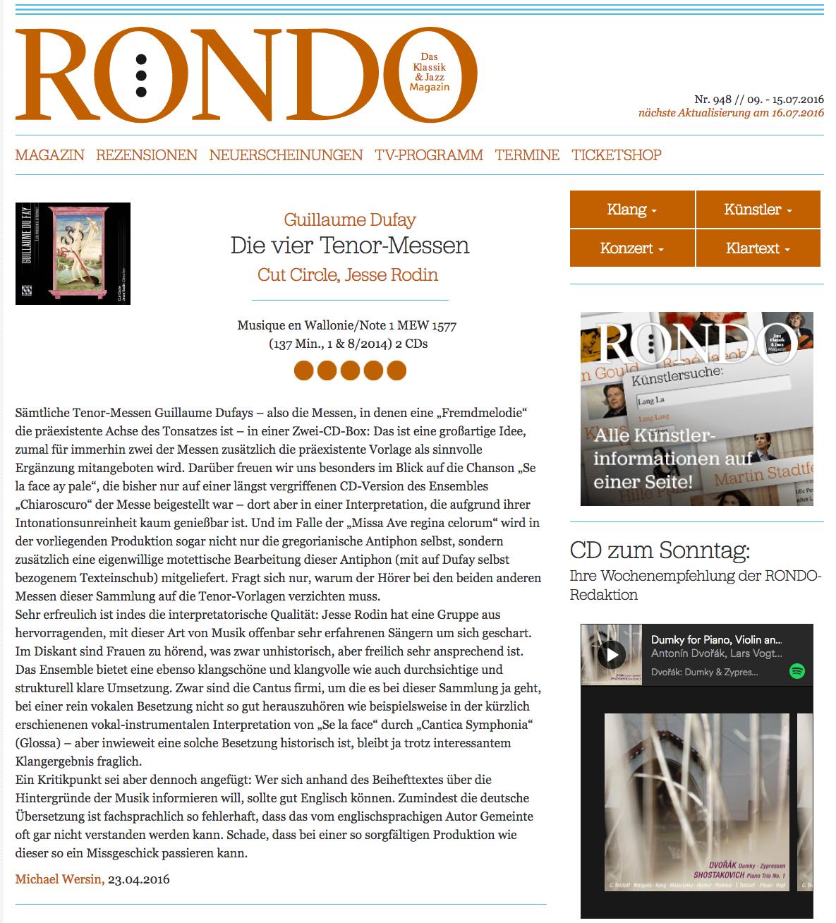 Rondo Review